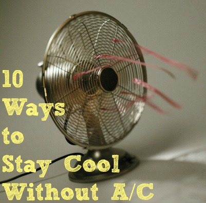 Naturally Frugal: Staying Cool Without A/C