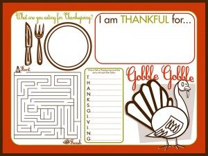 Simple Holidays: Thanksgiving Printables