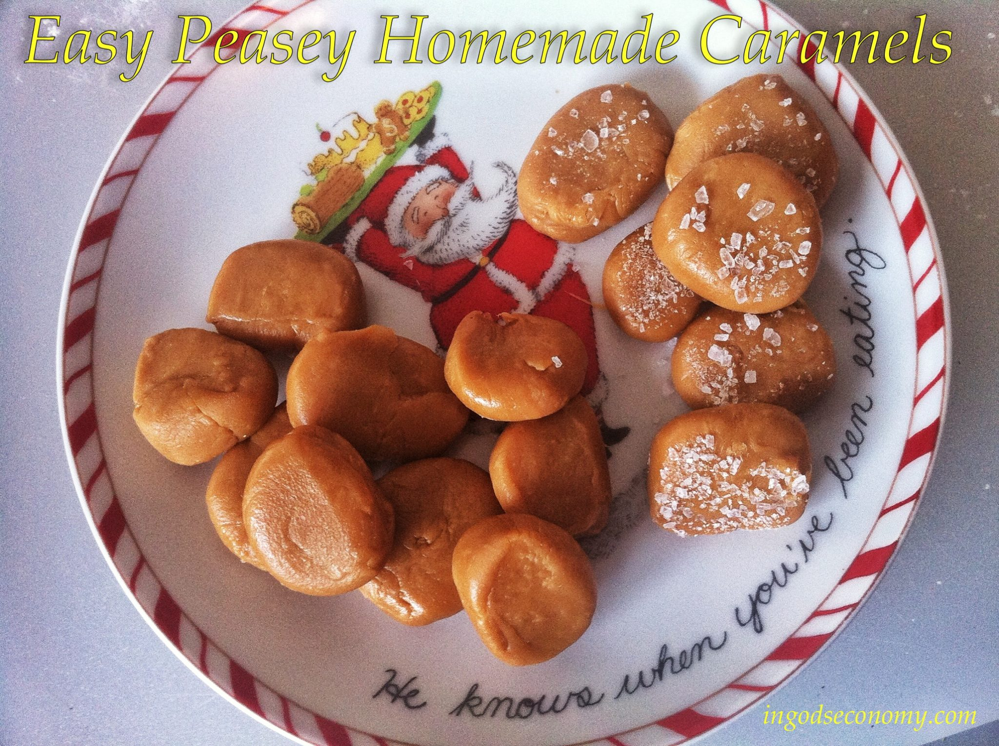 Easy caramels made in the microwave with only one ingredient!