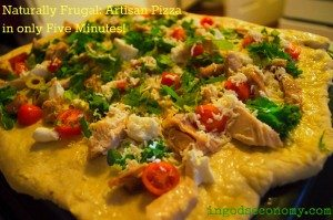 Naturally Frugal: Simple, Healthy Artisan Pizza