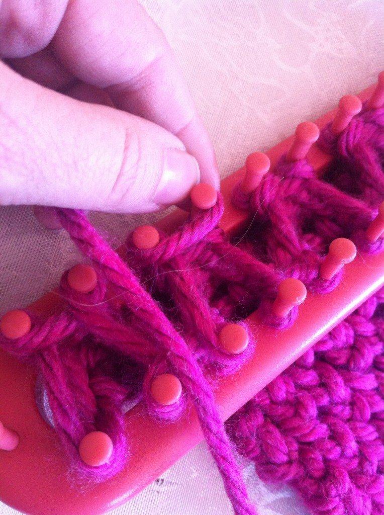 braid knit loom knitting