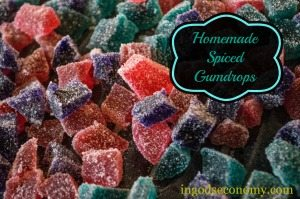 Homemade All-Natural Gumdrops