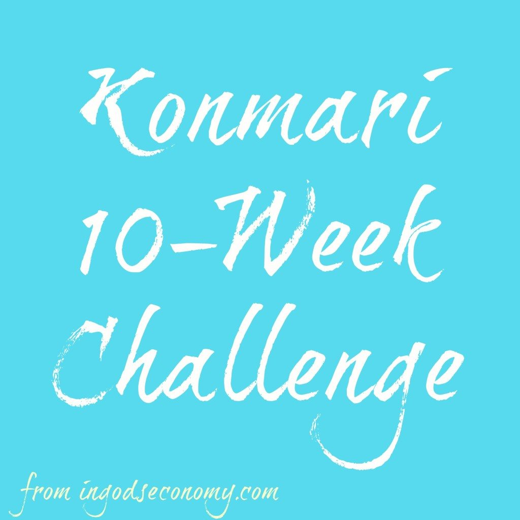 Konmari 10 Week Challenge