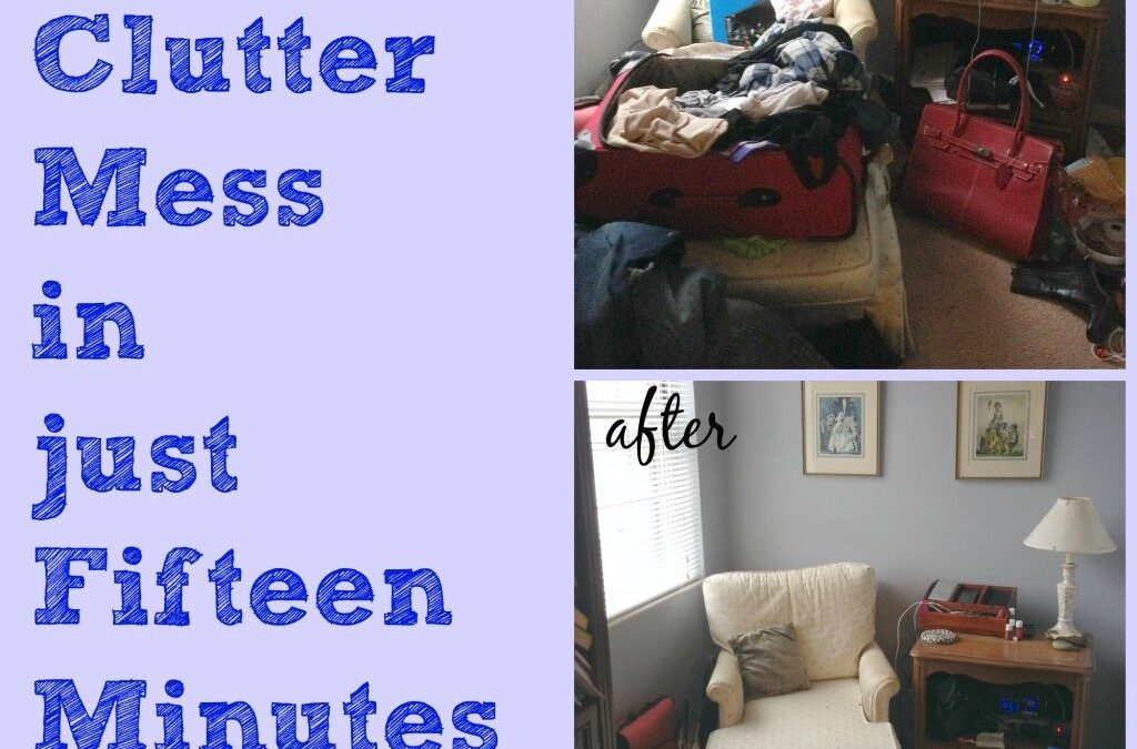 Simply Overwhelmed–Breaking Through Clutter in Fifteen Minutes!