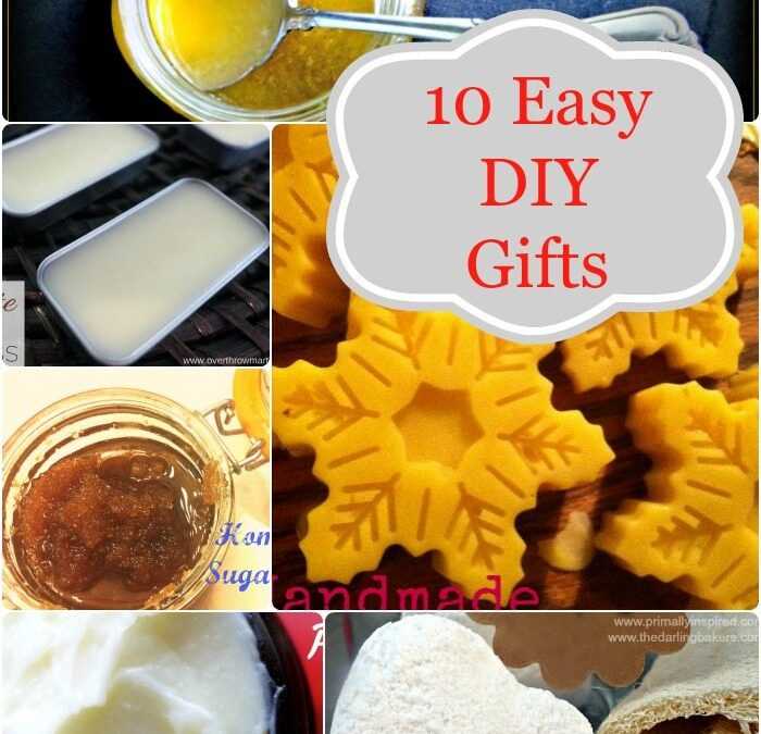 Handmade for the Holidays–10 Easy Homemade Gifts